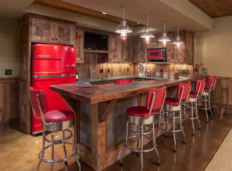 Rustic Home Bar by 16 Awe Inspiring Rustic Home Bars For An Unforgettable
