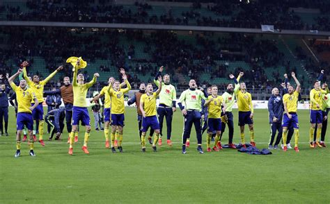world cus help desk sweden celebrates world cup berth by destroying pitch side