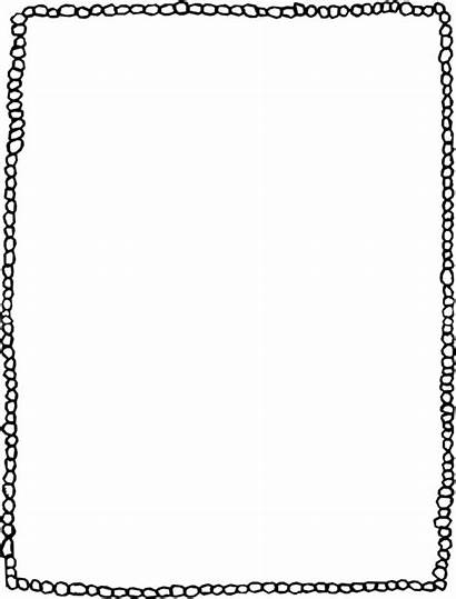 Clipart Word Frame Microsoft Template Drawing Frames