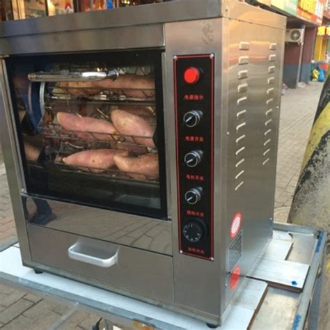 ship commercial electric baked sweet potato machine automatic sweet potato corn grilling