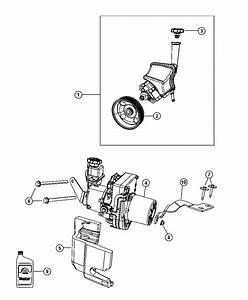 Chrysler 300 Pump  Power Steering  Reservir