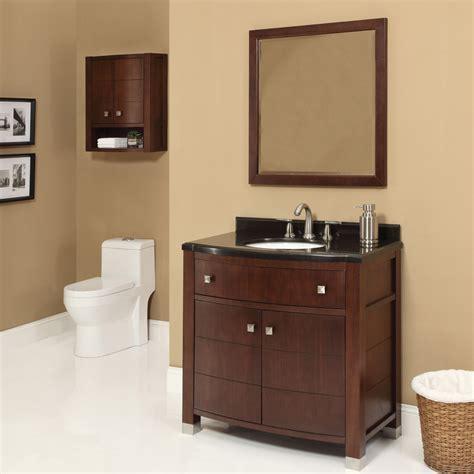 modern bathroom vanities decolav 36 inch walnut bathroom vanity