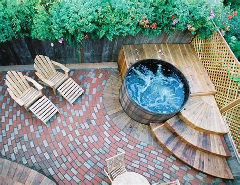 redwood soaking tub 17 best ideas about tub deck on tubs