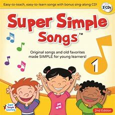 Audio & Dvd  Super Simple Learning  Super Simple Songs 1 (cd)  2nd Edition (level 1) By Devon