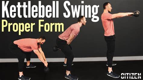 swing kettlebell proper form technique errors common