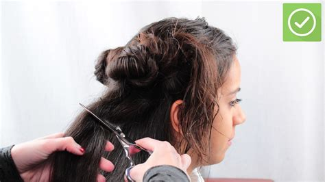 steps to style hair haar knippen wikihow 8879