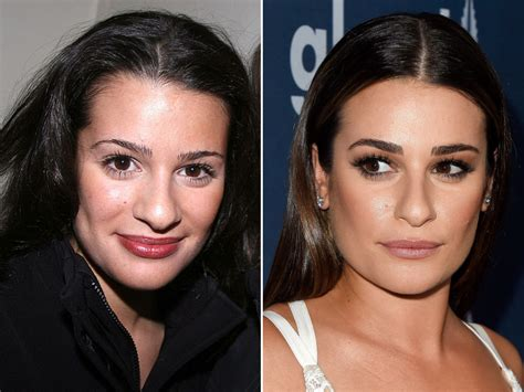 Lea Michele, Before And After Beautyeditor