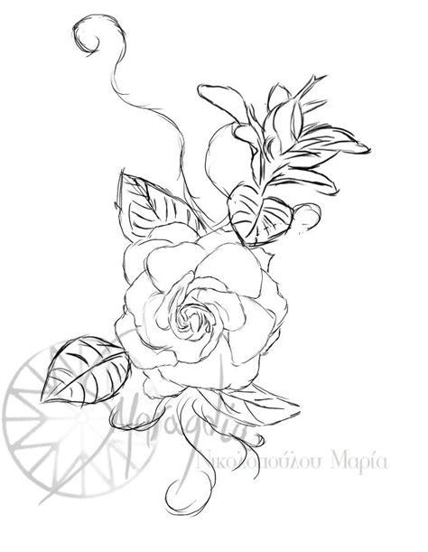 Gardenia Drawing by Gardenia By Smaragdia Deviantart On Deviantart