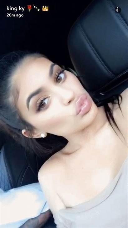 Jenner Kylie Snapchat Kardashians Baddie Kendall