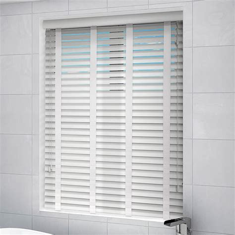 white wooden blinds  shop easy clean white wooden blinds