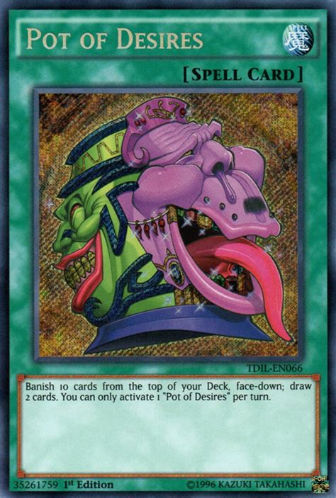 Check spelling or type a new query. Pot of Desires   Yu-Gi-Oh!   FANDOM powered by Wikia