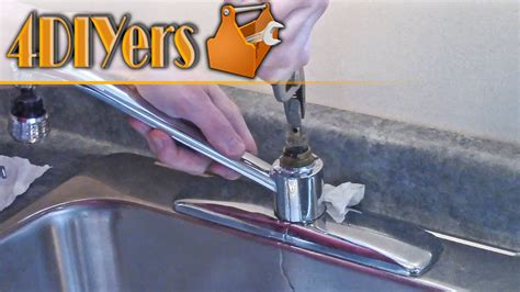Moen Faucet Cartridge Replacement And Disassembly