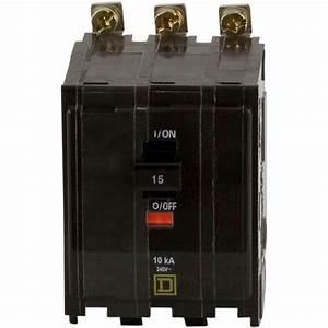 Square D Qo 15 Amp 3