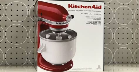 target kitchenaid ice cream maker attachment