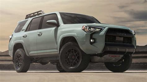 toyota trd pro lineup   color  upgrades