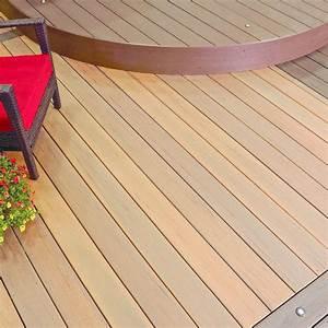 Lame De Terrasse Composite Longueur 4m : lame de terrasse en bois composite finition enrob e earthwood evolutions legacy timbertech ~ Melissatoandfro.com Idées de Décoration