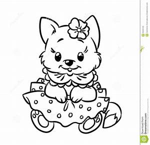 Kitten Coloring Pages Getcoloringpagescom