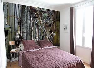 Tapisserie Pour Chambre : tapisserie originale chambre maison design ~ Preciouscoupons.com Idées de Décoration