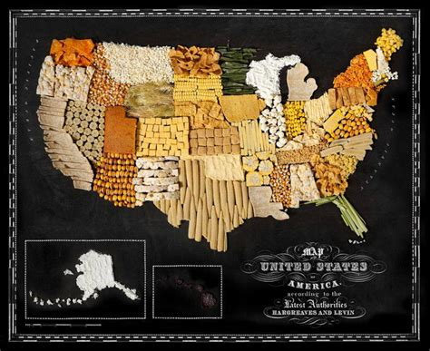 usa cuisine likefun me delicious geography food maps project