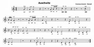 Musica e spartiti gratis per flauto dolce: Auschwitz