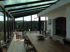 extension verre metal et bois industriel veranda et With extension maison en l 19 cuisine style industriel