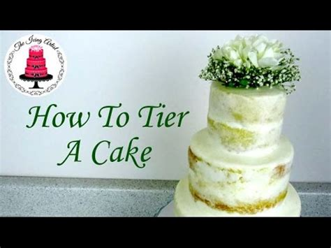 tiered cakenaked wedding cake