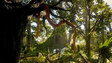 giant snake  red dead redemption  easter egg youtube