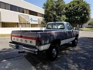 1992 Dodge W250 Cummins 5 Speed For Sale