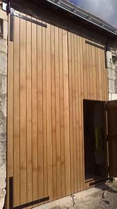 Fabriquer Sa Porte Coulissante Sur Mesure : fabriquer une porte de grange maison design ~ Premium-room.com Idées de Décoration