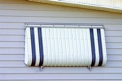 storm shutters unsafe