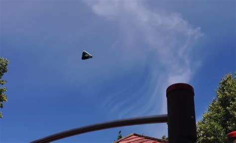 UFO Sighting: Giant Triangular-Shaped Object Spotted ...