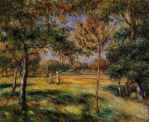 Solitary Dog Sculptor Painter Renoir Pierre Auguste