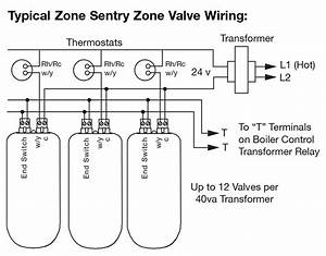 Zone Valve Thermostat Relay  U2014 Heating Help  The Wall