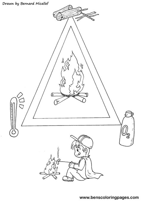 triangle coloring pages getcoloringpagescom