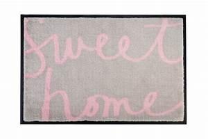Gift Company Fußmatte : gift company fu matte sweet home beige 50x75 cm ~ A.2002-acura-tl-radio.info Haus und Dekorationen