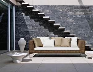 design exterieur mobilier et eclairage pour terrasse et With tapis exterieur avec canapé sofa italia
