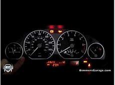 BMW Instrument Cluster OBC Test Diagnostics 330i