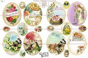 Victorian Easter Eggs Style 2 by Crafty Secrets from