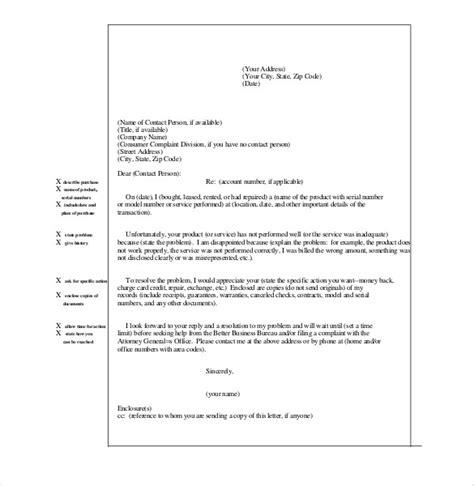 complaint letter templates    premium