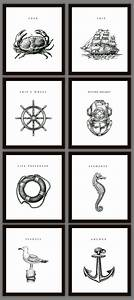 Nautical home decoration art prints on luulla