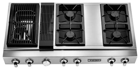 jenn air downdraft cooktop jenn air 48 quot gas downdraft rangetop stainless steel