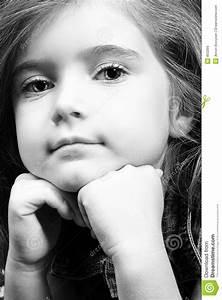 Fille Noir Et Blanc : fille blonde en denim noir et blanc image stock image ~ Melissatoandfro.com Idées de Décoration