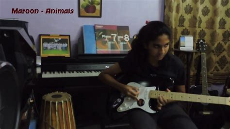 animals maroon  guitar cover solo youtube