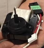 evaporator fan motor noise how to fix a noisy refrigerator