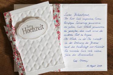 handgeschriebene karten und briefe glueckwunschkarte