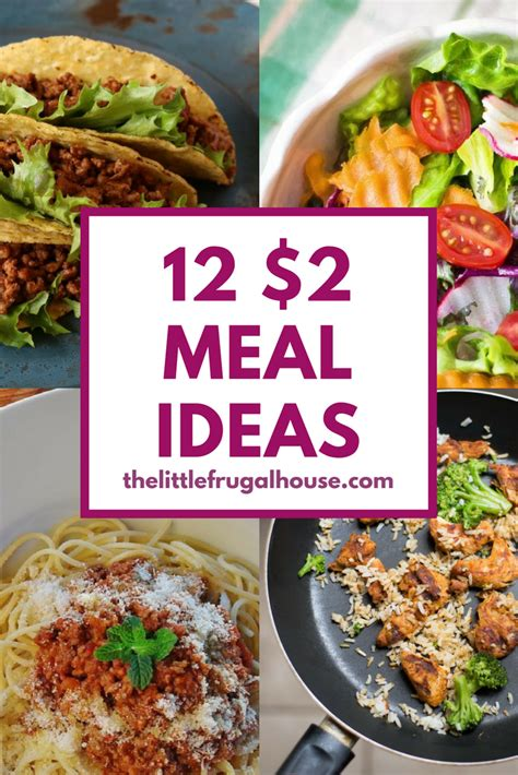 person meal ideas   frugal house
