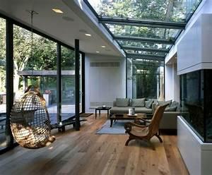 la veranda moderne80 idees chic et tendance With salon de jardin confortable et zen 7 deco jardin pour table agenceamarte