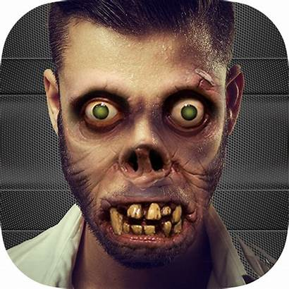 Scary Face Zombie Camera Booth Cam App