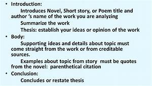 Critical Analysis Essay Introduction Example Essay