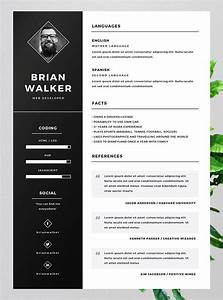10 best free resume cv templates in ai indesign word With free resume templates word